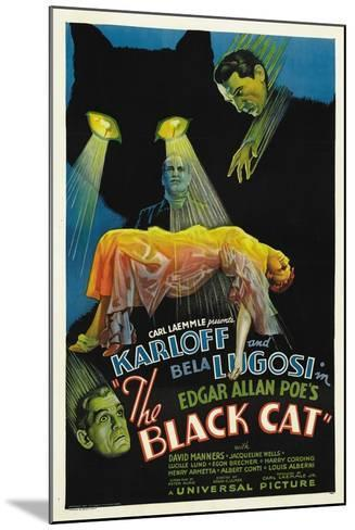 "The House of Doom, 1934, ""The Black Cat"" Directed by Edgar Ulmer--Mounted Giclee Print"