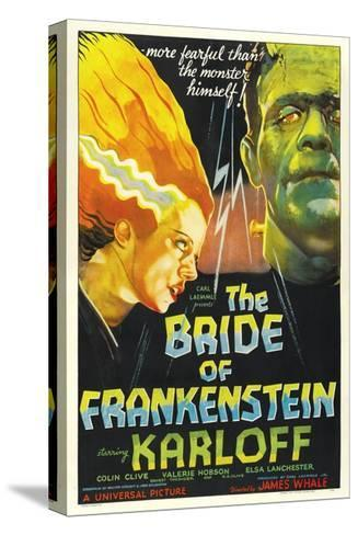 "Frankenstein Lives Again!, 1935, ""Bride of Frankenstein"" Directed by James Whale--Stretched Canvas Print"