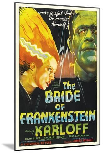 "Frankenstein Lives Again!, 1935, ""Bride of Frankenstein"" Directed by James Whale--Mounted Giclee Print"