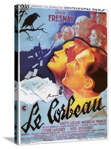 """The Raven, 1943, """"Le Corbeau"""" Directed by Henri-georges Clouzot--Stretched Canvas Print"""