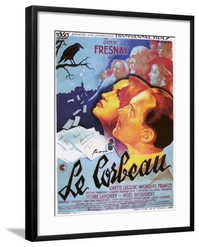 """The Raven, 1943, """"Le Corbeau"""" Directed by Henri-georges Clouzot--Framed Art Print"""