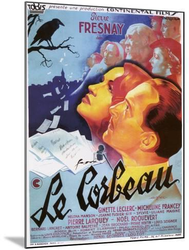 """The Raven, 1943, """"Le Corbeau"""" Directed by Henri-georges Clouzot--Mounted Giclee Print"""