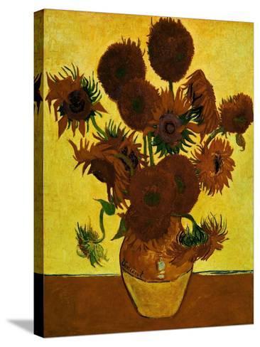 Sunflowers, 1888-Vincent van Gogh-Stretched Canvas Print