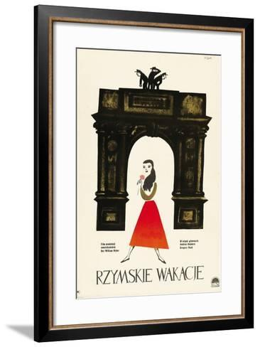 Roman Holiday, 1953, Directed by William Wyler--Framed Art Print