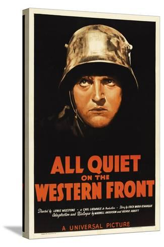 All Quiet On the Western Front, 1930, Directed by Lewis Milestone--Stretched Canvas Print