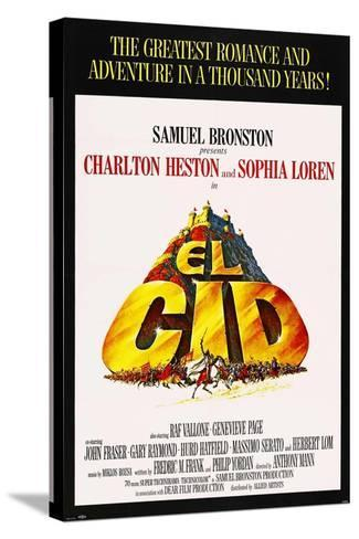 El Cid, 1961, Directed by Anthony Mann--Stretched Canvas Print