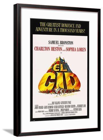 El Cid, 1961, Directed by Anthony Mann--Framed Art Print