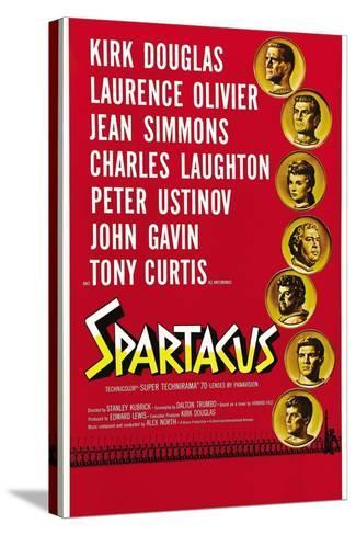 """Spartacus: Rebel Against Rome, 1960, """"Spartacus"""" Directed by Stanley Kubrick--Stretched Canvas Print"""