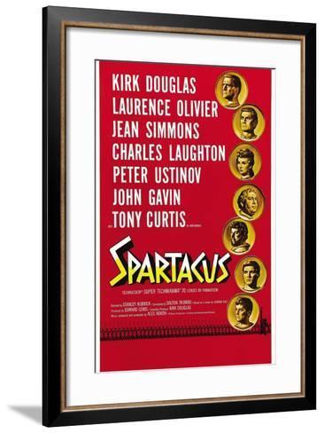 "Spartacus: Rebel Against Rome, 1960, ""Spartacus"" Directed by Stanley Kubrick--Framed Art Print"