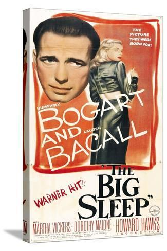 The Big Sleep, 1946, Directed by Howard Hawks--Stretched Canvas Print