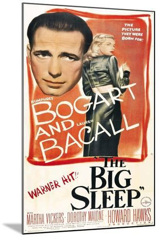 The Big Sleep, 1946, Directed by Howard Hawks--Mounted Giclee Print