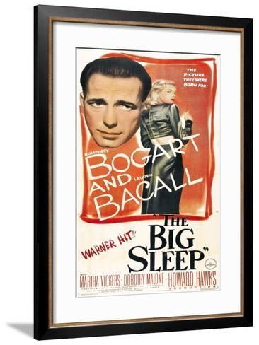 The Big Sleep, 1946, Directed by Howard Hawks--Framed Art Print