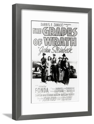 "Daryl F. Zanuck's Producion of ""The Grapes of Wrath"" by John Steinbck--Framed Art Print"