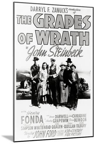 """Daryl F. Zanuck's Producion of """"The Grapes of Wrath"""" by John Steinbck--Mounted Giclee Print"""