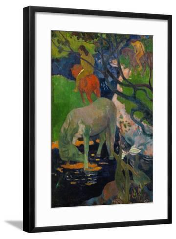 The White Horse, 1898-Paul Gauguin-Framed Art Print