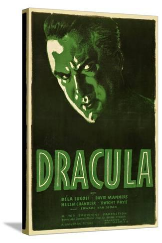 Dracula, 1931, Directed by Tod Browning--Stretched Canvas Print