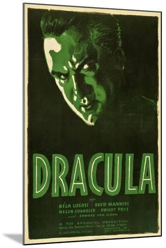 Dracula, 1931, Directed by Tod Browning--Mounted Giclee Print