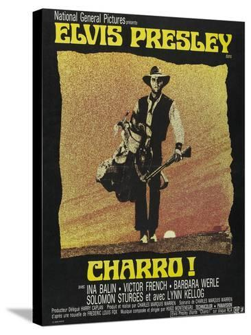 """Come Sundown, Come Hell, 1969, """"Charro"""" Directed by Charles Marquis Warren--Stretched Canvas Print"""