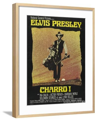"""Come Sundown, Come Hell, 1969, """"Charro"""" Directed by Charles Marquis Warren--Framed Art Print"""