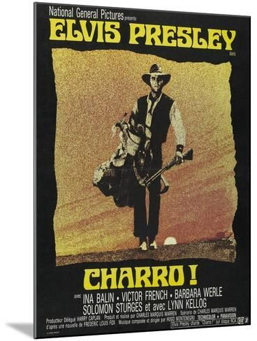 """Come Sundown, Come Hell, 1969, """"Charro"""" Directed by Charles Marquis Warren--Mounted Giclee Print"""