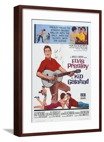 Kid Galahad, 1962, Directed by Phil Karlson--Framed Art Print