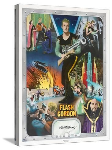 """Flash Gordon: Space Soldiers, 1936, """"Flash Gordon"""" Directed by Ray Taylor, Frederick Stephani--Stretched Canvas Print"""