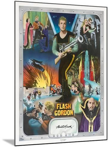 """Flash Gordon: Space Soldiers, 1936, """"Flash Gordon"""" Directed by Ray Taylor, Frederick Stephani--Mounted Giclee Print"""