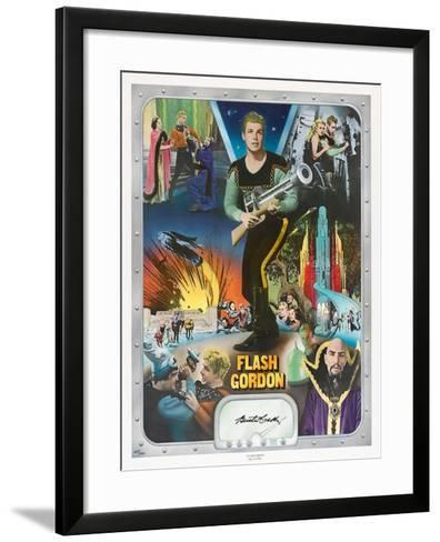 """Flash Gordon: Space Soldiers, 1936, """"Flash Gordon"""" Directed by Ray Taylor, Frederick Stephani--Framed Art Print"""