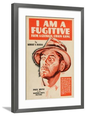 I Am a Fugitive From a Chain Gang, 1932, Directed by Mervyn Leroy--Framed Art Print