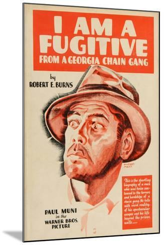 I Am a Fugitive From a Chain Gang, 1932, Directed by Mervyn Leroy--Mounted Giclee Print