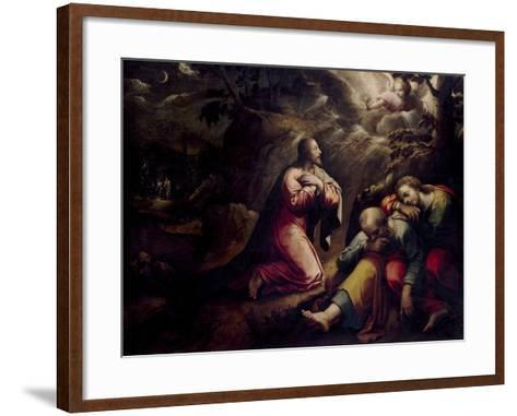 The Agony In the Garden, First Quarter 17th Century, Italian School-Giorgio Vasari-Framed Art Print