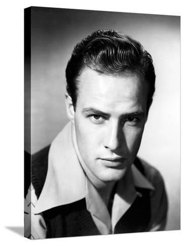 Marlon Brando--Stretched Canvas Print