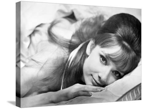 """Audrey Hepburn. """"Together In Paris"""" 1964, """"Paris-when It Sizzles"""" Directed by Richard Quine--Stretched Canvas Print"""