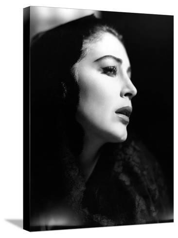 "Ava Gardner. ""The Naked Maja"" 1958, Directed by Henry Koster--Stretched Canvas Print"