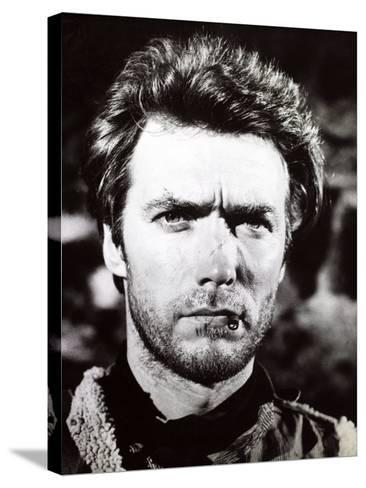 "Clint Eastwood. ""A Fistful of Dollars"" 1964, ""Per Un Pugno Di Dollari"" Directed by Sergio Leone--Stretched Canvas Print"