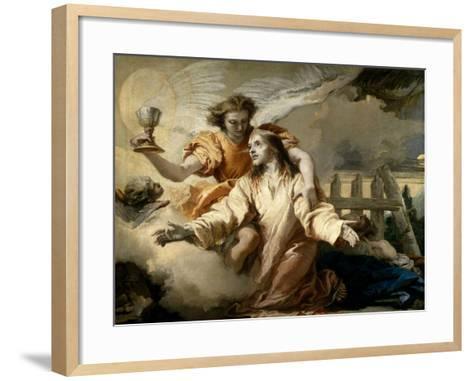 The Agony In the Garden, 1772, Italian School-Giovanni Domenico Tiepolo-Framed Art Print