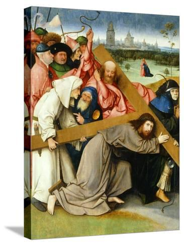 Christ Carrying the Cross, 1505-1507-Hieronymus Bosch-Stretched Canvas Print
