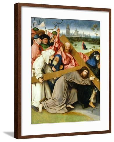 Christ Carrying the Cross, 1505-1507-Hieronymus Bosch-Framed Art Print