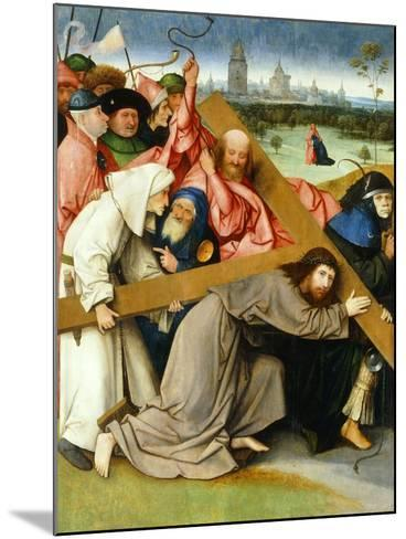 Christ Carrying the Cross, 1505-1507-Hieronymus Bosch-Mounted Giclee Print