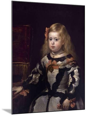 Infanta Margaret of Austria, Philip Iv's Daughter-Diego Velazquez-Mounted Giclee Print