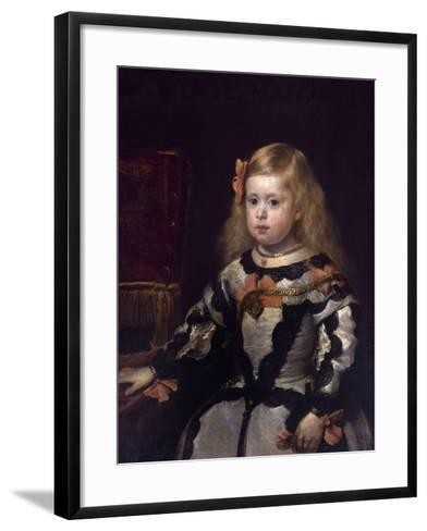 Infanta Margaret of Austria, Philip Iv's Daughter-Diego Velazquez-Framed Art Print