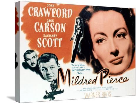 Mildred Pierce, 1945, Directed by Michael Curtiz--Stretched Canvas Print