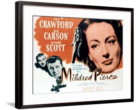 Mildred Pierce, 1945, Directed by Michael Curtiz--Framed Art Print