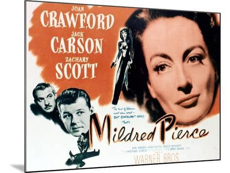 Mildred Pierce, 1945, Directed by Michael Curtiz--Mounted Giclee Print