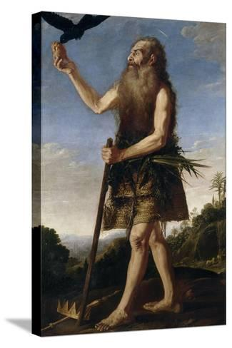 Saint Onuphrius, Ca. 1645, Spanish School-Francisco Collantes-Stretched Canvas Print