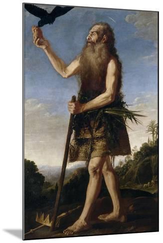 Saint Onuphrius, Ca. 1645, Spanish School-Francisco Collantes-Mounted Giclee Print