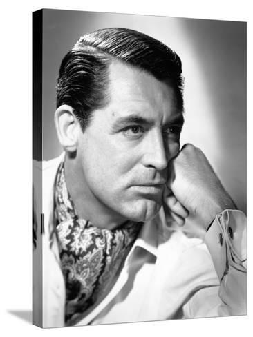 "Cary Grant. ""Notorious"" 1946, Directed by Alfred Hitchcock--Stretched Canvas Print"