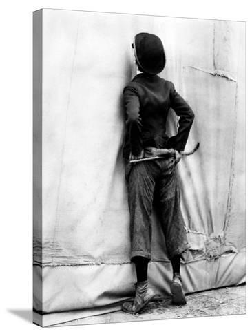"Charlie Chaplin. ""The Circus"" 1928, Directed by Charles Chaplin--Stretched Canvas Print"
