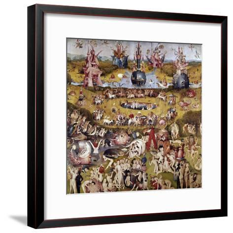 The Garden of Earthly Delights: Ecclesia's Paradise, 1503-1504, Dutch School-Hieronymus Bosch-Framed Art Print