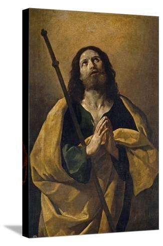 The Apostle Santiago, the Elder, 1618-1623, Italian School-Guido Reni-Stretched Canvas Print